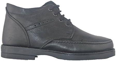 VARESE Scarponcini polacchini scarpe pelle uomo comfort made in Italy