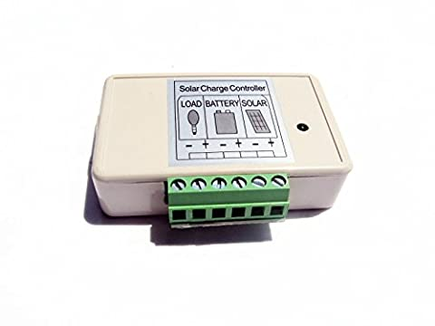 ECO-WORTHY 3A 15A PWM Charge Controller Solar Panel Battery Regulator 12V/24V Automatic (3A)