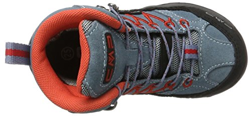 CMP Rigel Mid WP, Chaussures de Randonnée Hautes Mixte Adulte Gris (Acciaio)