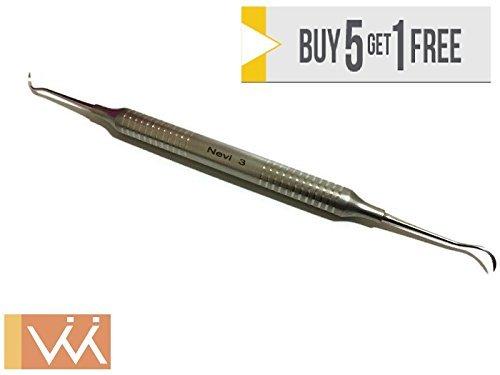 Wise Instruments Inc Sichel Scaler – Nevi Posterior 3, Doppel-Ende der schärfsten und langlebigste Scaler auf dem Markt -