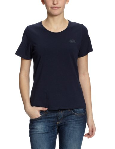 Fruit of the Loom Damen T-Shirt Regular Fit, 11058J Blau (AZ dunkelblau)