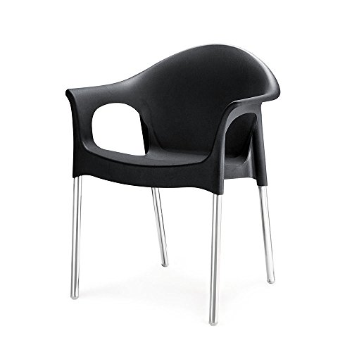 Nilkamal Novella Series 09 Chair (Black)
