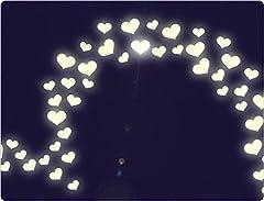 Idea Regalo - I-love-Wandtattoo 'I-LOVE-adesivo da parete 11639Adesivo da parete adesivo da parete luminoso schermo Cuore, Set 1