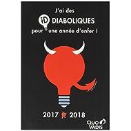 Quo Vadis ID Text 0291486q Agenda Scolastica giornaliera 12x 17cm anno 2017–2018