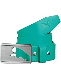 Puma Golf Mens Highlight Fitted Leather Golf Belt