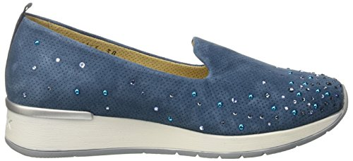 MELLUSO R20010, Sneakers basses femme Blu (Blueberry)