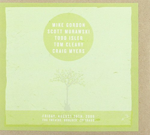 Live 8-29-08 by Mike Gordon (2009-09-15)