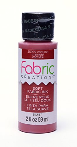 Fabric Creations™ Stempelfarbe, , 59 ml, crimson, purpur