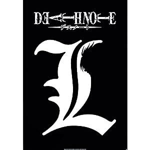 ABYstyle Cartel de Death Note con el símbolo L (Multicolor)