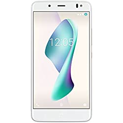 """BQ Aquaris V Plus - Smartphone de 5.5"""" (WiFi, 3 GB de RAM, 32 GB de memoria interna, Bluetooth 4.2, cámara de 12 MP Big Pixel, dual nano-SIM, Android 7.1.2 Nougat), mist gold"""