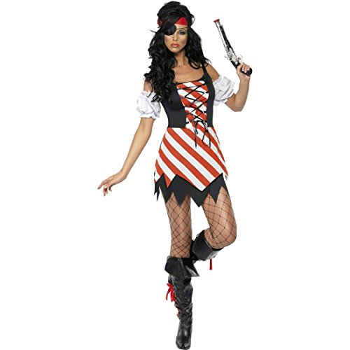 Sexy Kostüm Billig - Amakando Sexy Piratin Piratenkostüm Damen S