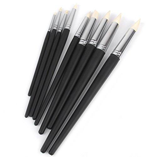 Colour-shaper-sets (Cosanter Flexible Fimo Clay Sculpting Colour Shaper wischen heraus Werkzeuge,set 9St)