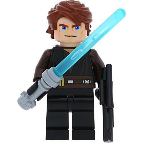 igur Anakin Skywalker (Clone Wars / Set 7957) mit GALAXYARMS Waffen (Star Wars Lego-sets Clone Wars)