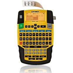 DYMO 47982 Rhino 4200 Imprimante étiquette Ruban Noir/Blanc 18 mm Malette Transport Adaptateur