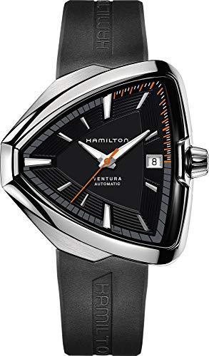 Hamilton Reloj de Hombre automático Correa de Goma Caja de Acero H24555331