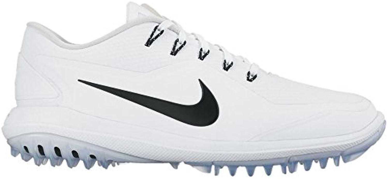nike femmes lunarcontrol & eacute; Femme est Femme eacute; vapeur 2 chaussures de golf, (blanc / noir / platine / volt 100), 6 royaume - uni cc70de