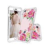 Beatuiphone iPhone 7Plus Coque, iPhone 8Plus Coque avec Motif Floral Clair...