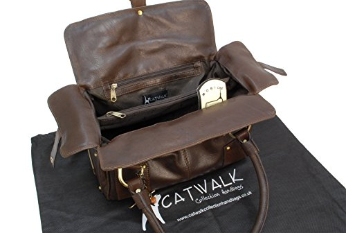 Borsa in pelle a spalla di Catwalk Collection