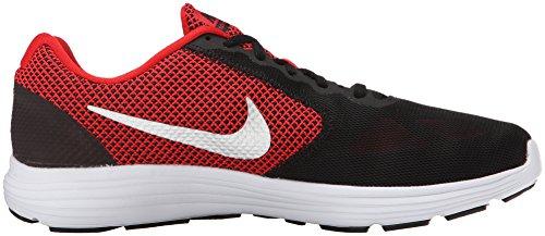 Nike Revolution 3 (4e), Scarpe da Corsa Uomo Rojo (Rojo (university red/metallic silver-black))