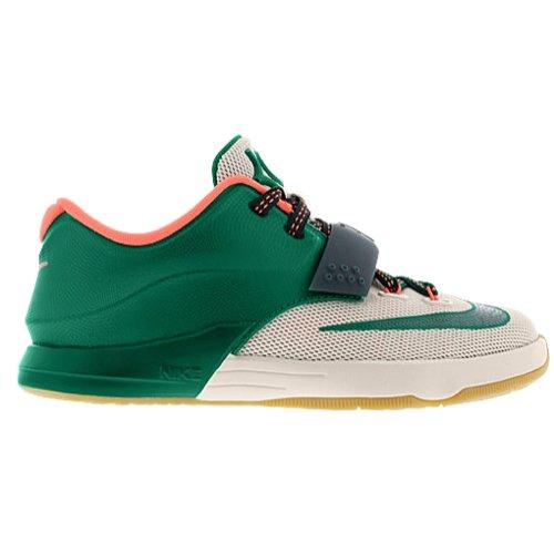 the best attitude 23c7f 99aab Nike KD VII Kids Shoes Myistic Green Light Bone Gum Light Brown 669944-