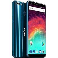 Cellulare sbloccato Ulefone Mix 2 (5,7 pollici Display Infinito HD 18: 9, Processore Ouad Core, 2 GB di RAM, 16 GB di memoria, Doppia fotocamera posteriore, Dual Sim, Android 7.0, GPS, OTG, Finger ID) Blu