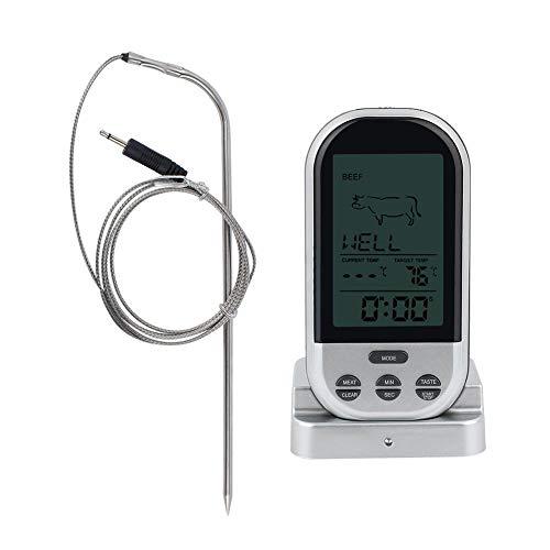 Wireless Digital Mini Food Thermometer Küche Kochen BBQ Grill Fleisch Temperatur Tester