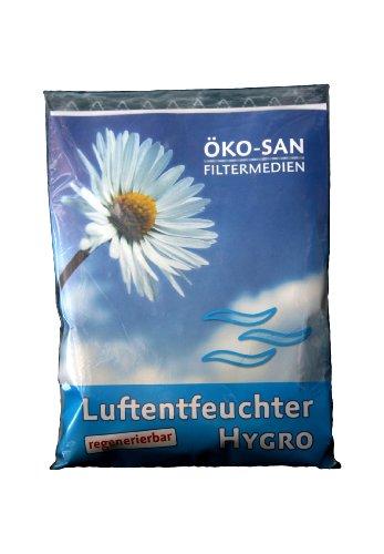 Luftentfeuchter Hygro 3er Set, 3 x 250 gr. wiederverwendbar und lebensmittelecht / das Original aus der TV-Werbung EAN 4260237710059