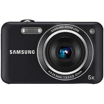 Samsung ES75 Digitalkamera (14 Megapixel, 5-fach opt. Zoom, 6,85 cm (2,7 Zoll) LC-Display, Bildstabilisator) schwarz
