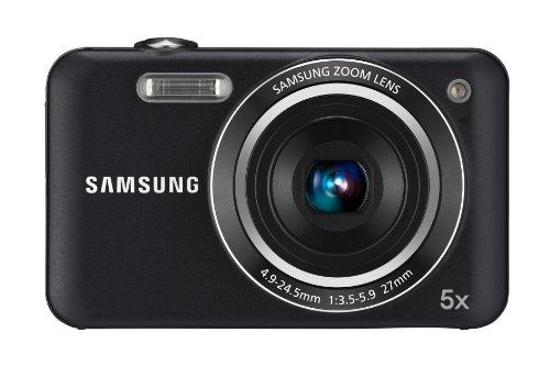 Samsung ES75 Digitalkamera (14 Megapixel, 5-fach opt. Zoom, 6,85 cm (2,7 Zoll) LC-Display, Bildstabilisator) schwarz 14.2 Mp, 2.7