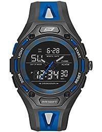 Skechers SR1070 - Reloj Casual de Cuarzo para Hombre, de plástico y Poliuretano