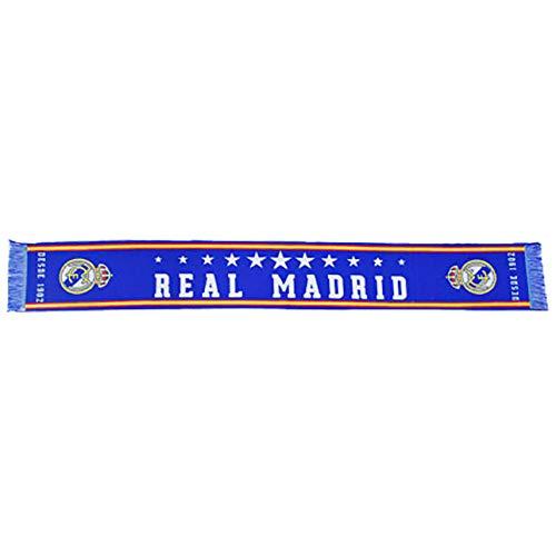 BUFANDA REAL MADRID -LICENCIA OFICIAL- DESDE 1902, FUTBOL