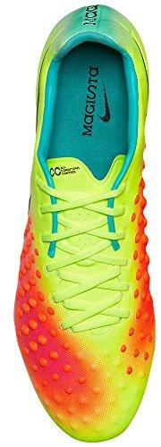 Nike Herren Magista Opus Ii Fg Fußballschuhe, UK neongelb / orange