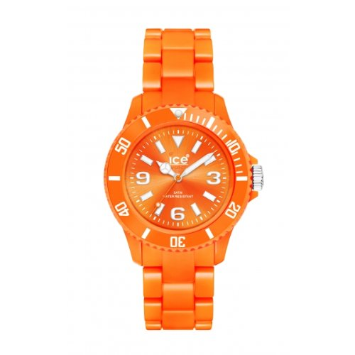 Ice-Watch Classic Solid Orange Unisex Plastic Watch CS.OE.U.P