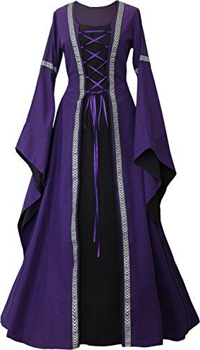 Dornbluth Damen Mittelalter Kleid Anna (32/34, ()