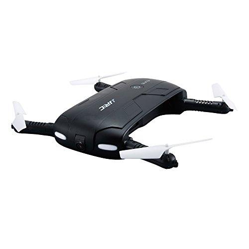 Goolsky JJRC H37 LFIE WIFI FPV Live Übertragung 0.3MP Kamera Quadrocopter faltbarer G-Sensor Mini RC Selfie Drohne 6-Achsen-Gyro E
