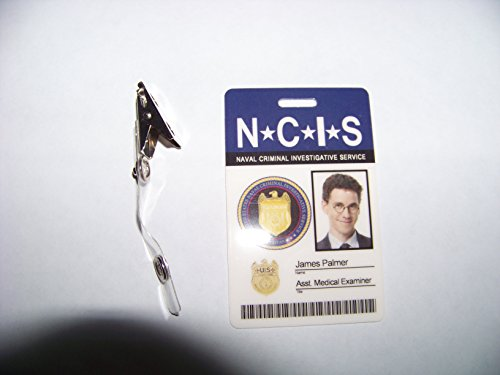 NCIS Navy CIS Asst. Medical Examiner James Palmer , ID - Karte , ID Badge