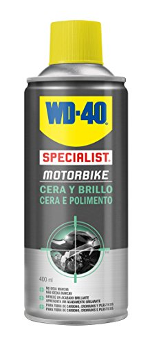 WD-40 Specialist Motorbike 34809 Wax and Shine Spray for Motorbikes