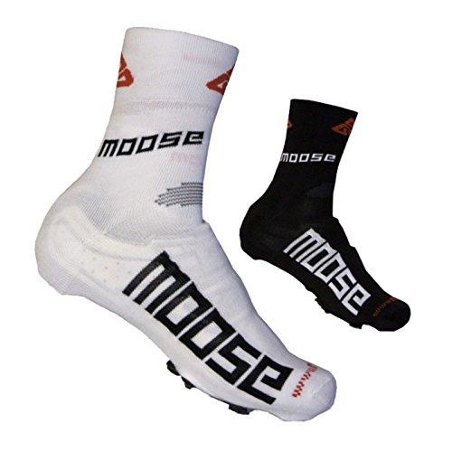 MOOSE SHOECOVER, Fahrradschuh Cover, Überschuh, Überschuhe, Schuhüberzug XL (44-45) Schwarz