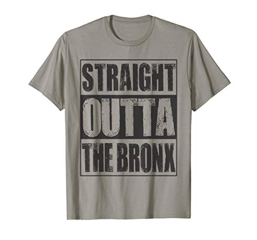 Vintage Straight Outta The Bronx Gift T-Shirt -