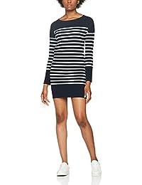 Scotch & Soda Damen Kleid Breton Striped Sweat Dress