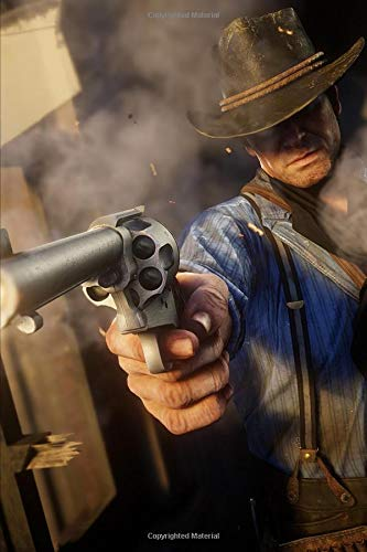 Red Dead Redemption - Gunslinger Revolver: 2019 Weekly Planner with Note Paper Section