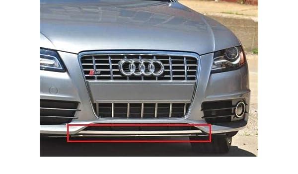 New Genuine A4 S4 B8 Front Lower Lip Spoiler Chrome 8K0807110A2ZZ OEM
