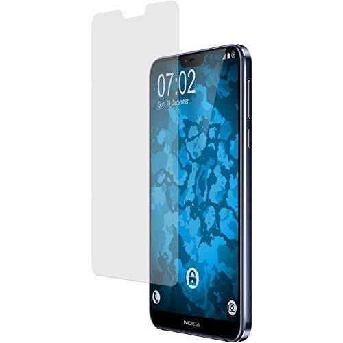 PhoneNatic 4er-Pack Bildschirmschutzfolien matt kompatibel mit Nokia 7.1