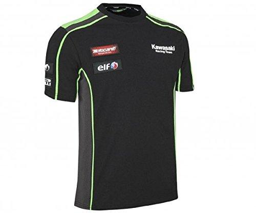 Kawasaki KRT SBK Replica Herren T-Shirt schwarz Size 3XL/4XL (Schwarz T-shirt Alex)