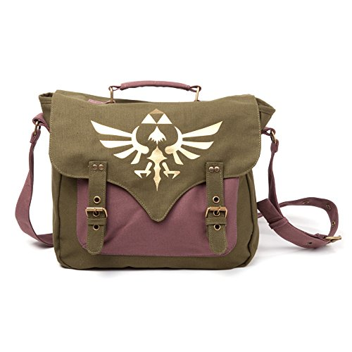 Legend of Zelda MB060223NTN - Bolsa Bandolera logotip