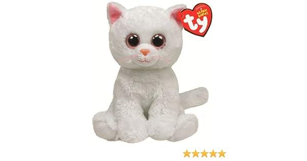 8167a671245c2 Ty Beanie Baby Bianca Plush - White Cat