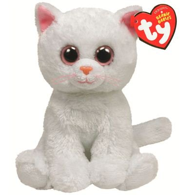 ty-ty42056-peluche-beanie-babies-bianca-le-chat-blanc-15-cm