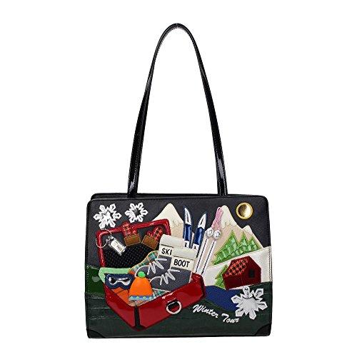 "Shopping Braccialini, linea ""Cartoline"" artB10776"