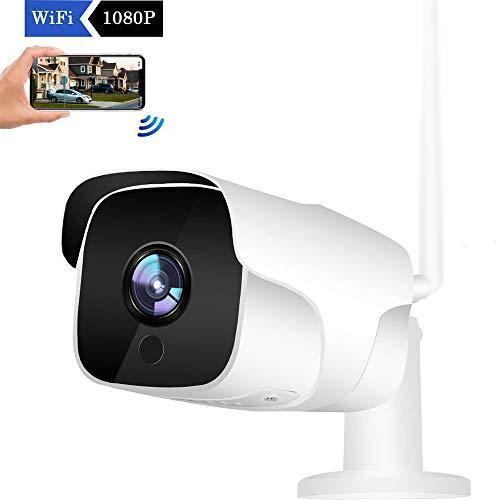 MUXAN Full HD 1080P Externe Überwachungskamera Cloud WiFi Wireless IR-Kamera Nachtsicht Home Security-Überwachungssystem Remote-Ansicht