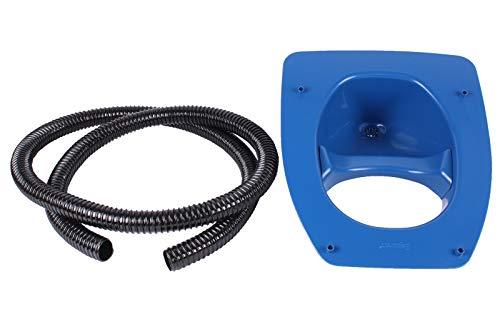 Separett Trocken Trenn Toilette Privy 400 Kompostkloaufsatz solo ohne Sitz